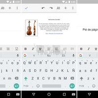 Google Docs para Android acorta distancias con Microsoft Word: descubre a fondo sus novedades