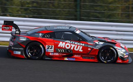 Nissan destroza el cronómetro en Suzuka tras un día de pruebas del Super GT accidentado