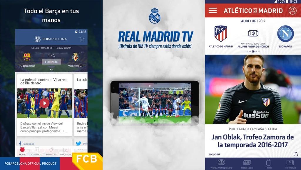 Barca Tv Madrid