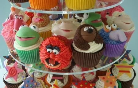 Cupcakes de los Teleñecos, ¡para comérselos!
