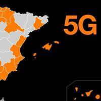 El 5G de Orange alcanza las 295 ciudades en España, el 23% de la población