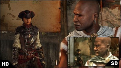 Así luce 'Assassin's Creed Liberation HD' en sobremesa