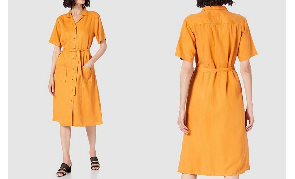 Superdry Tencel Shirt Dress Vestido para Mujer