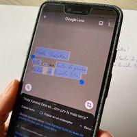 Google Lens ahora deja copiar texto escrito a mano y pasarlo al ordenador