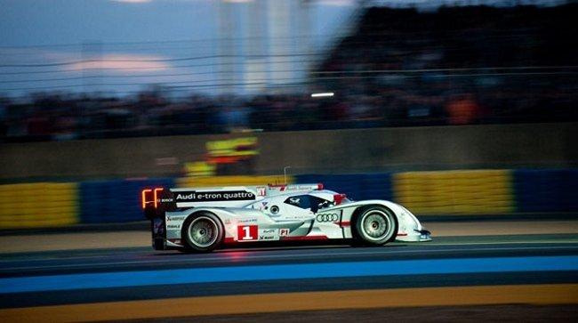 Audi R18 e-tron quattro LMP1 ganador 2012