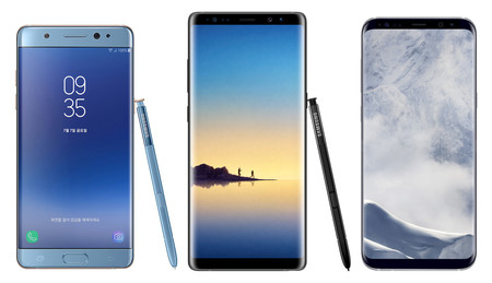 Note 8, Note 7, Samsung Galaxy 8