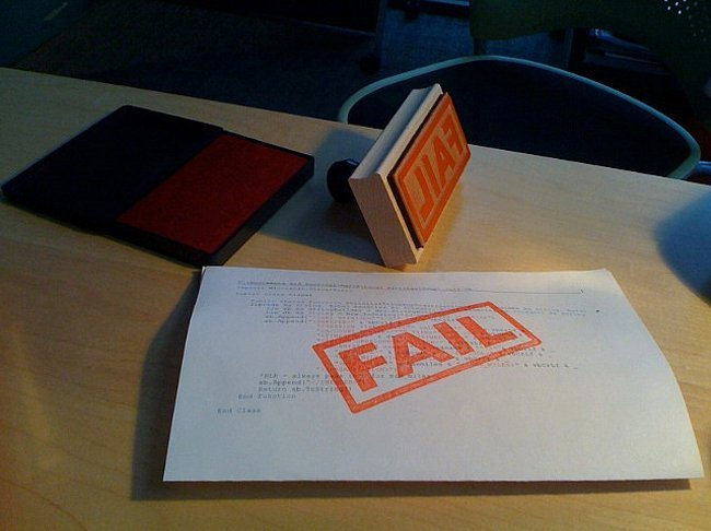Adobe Fail