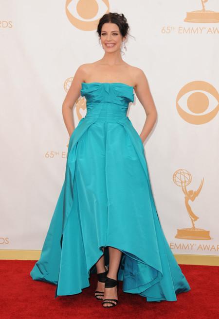 Jessica Pare sandalias Emmy 2013