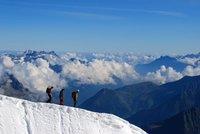 Las mejores vistas de los Alpes desde el teleférico de Aiguille du Midi