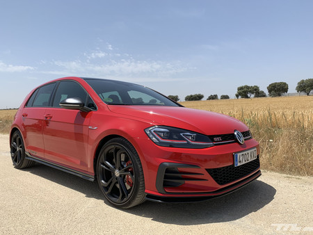 Volkswagen Golf GTI TCR frontal lateral