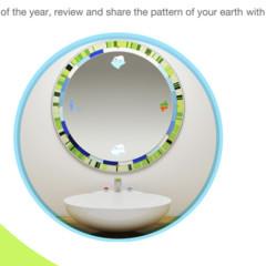 Foto 1 de 4 de la galería circle-mirror en Decoesfera