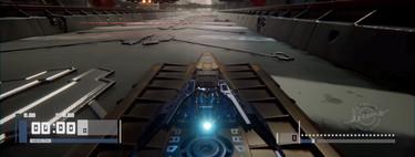 En Dreams todo es posible, incluso crear un juego de carreras inspirado en Wipeout como este