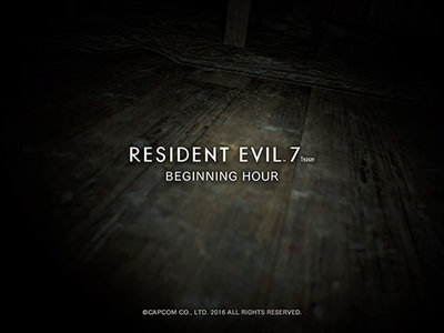 Resident Evil 7: Beginning Hour ya se encuentra disponible en Steam