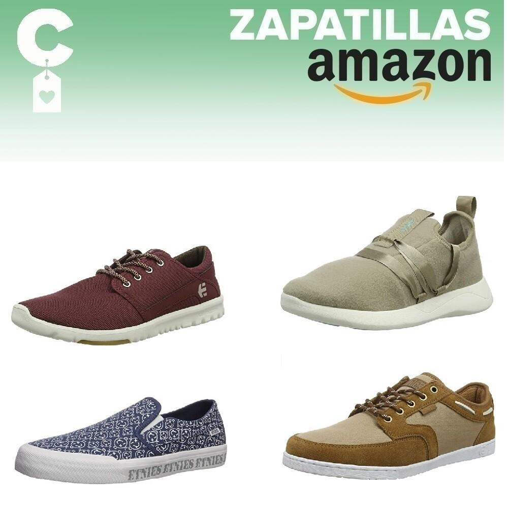 12 chollos en tallas sueltas de zapatillas Etnies por menos de 20 euros en Amazon