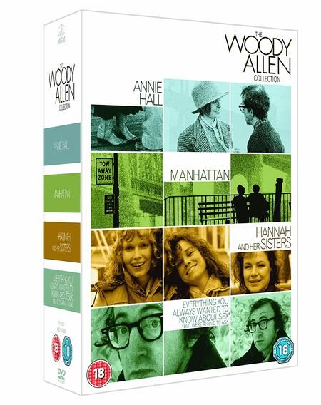 Colección Woody Allen, con cuatro de sus mejores películas en DVD, por 7,84 euros