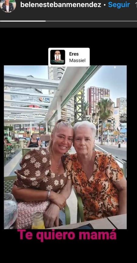 Belen Esteban De Vacaciones Con Su Madre En Benidorm C2059ad9 546x1048