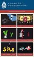 Las nuevas reglas de la RAE, ilustradas