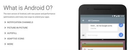Android O Novedades