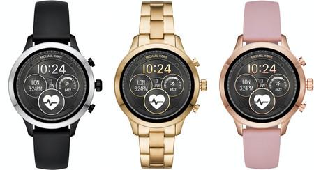 Michael Kors convierte en smartwatch su reloj Runway con Wear OS, GPS, NFC, lector cardíaco, pagos y más