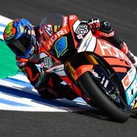 Triplete español en la clasificación de Jerez y primera pole position de Jorge Navarro en Moto2