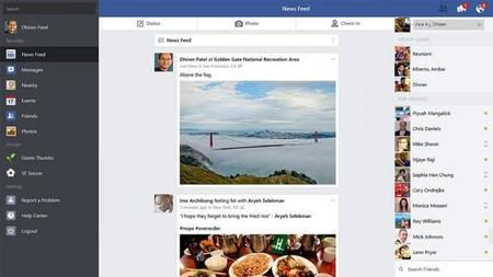 Facebook para Windows 8