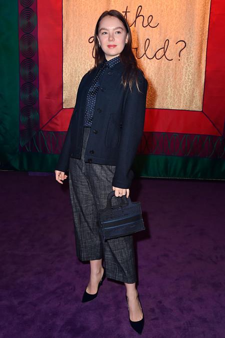 Dior Mini Book Tote Stars In Dior Alexandra De Hanovre
