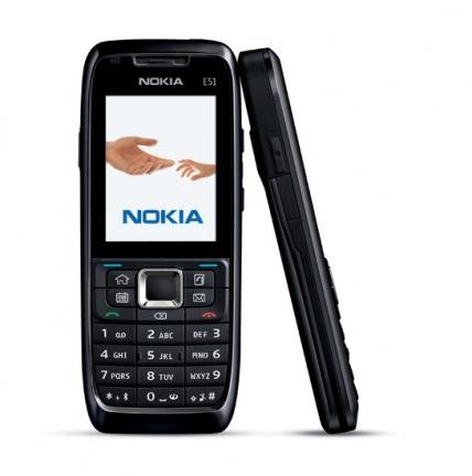 Nokia E51 sin cámara