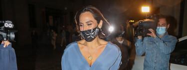 Tamara Falcó luce el vestido de invitada perfecto para acudir al Teatro Real