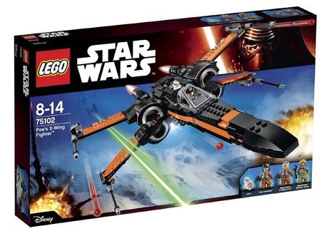 Poe's X-Wing Fighter, de Lego Star Wars, con un 45% de descuento