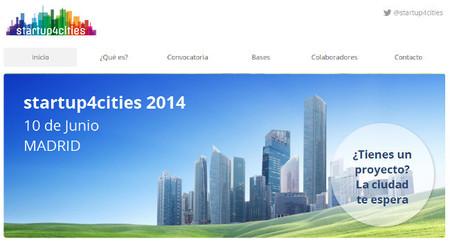 startup4cities, la iniciativa para proyectos tecnológicos para Smart cities