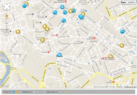 mapa de puntos wifi