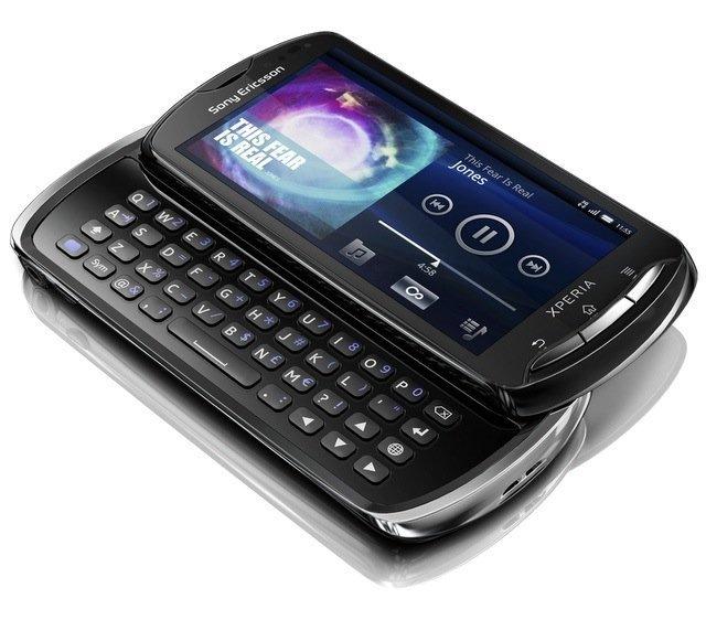 Sony Ericsson Xperia Pro en negro
