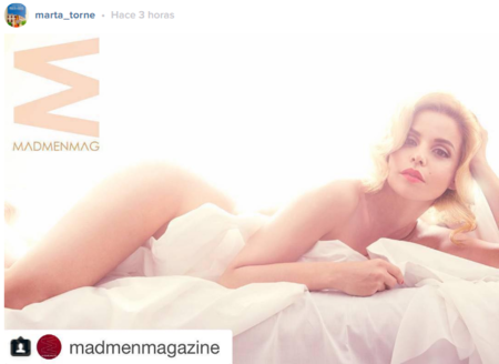 Una de posados: de Marta Torné a Britney Spears