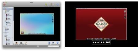 Modos a pantalla completa y Quiklook de flickery