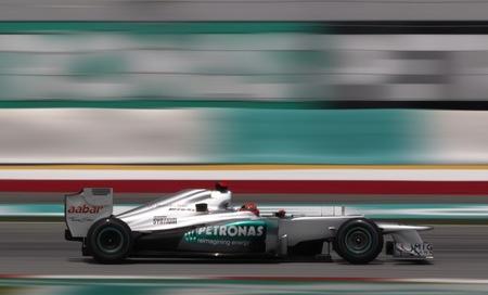 Michael Schumacher P3 Malasia 2012
