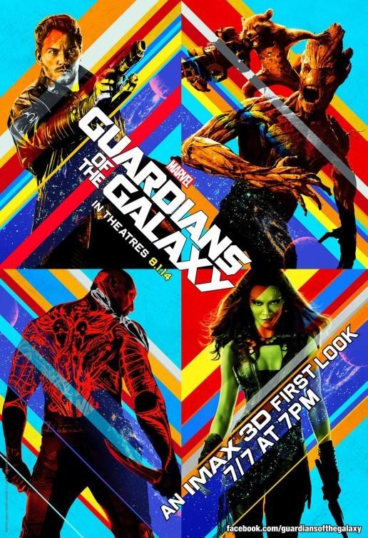 Carteles de 'Guardianes de la Galaxia'