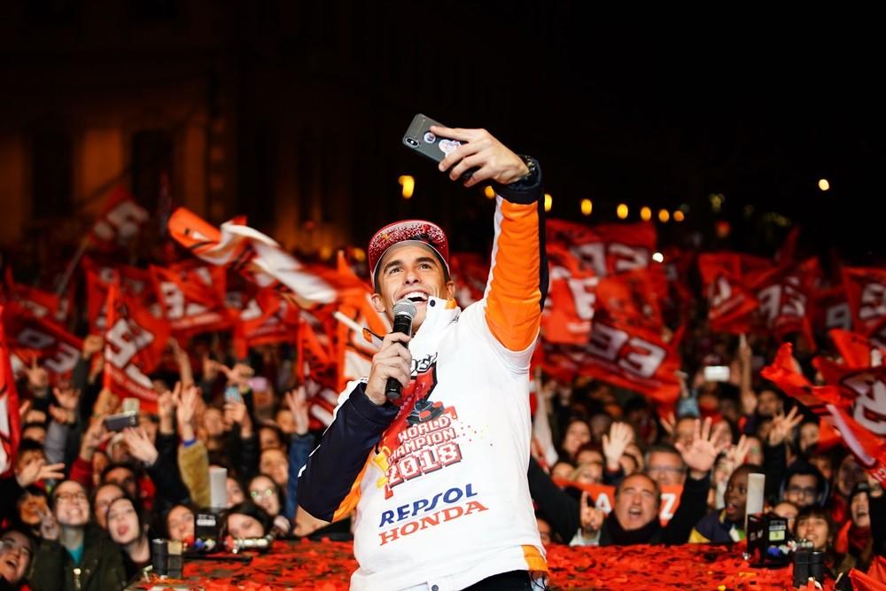 Foto de Celebración del séptimo título de Marc Márquez (5/12)