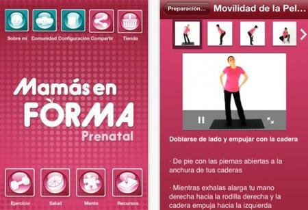 """""""Mamás en forma"""", aplicación para embarazadas"""