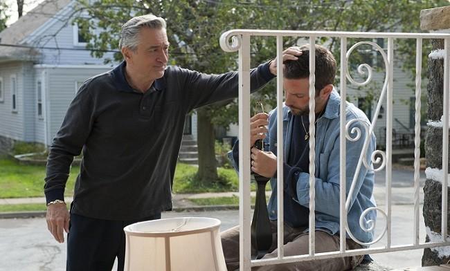 Imagen de Robert De Niro en la película 'El lado bueno de las cosas'