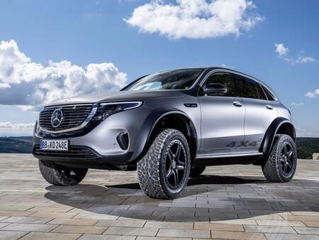 Mercedes-Benz EQC 4x4², la versión aventurera del SUV alemán, con dosis extra de vitaminas y actitud off-road
