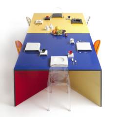 Foto 5 de 5 de la galería nzela-mesa-por-modulos-de-diseno-flexible en Decoesfera