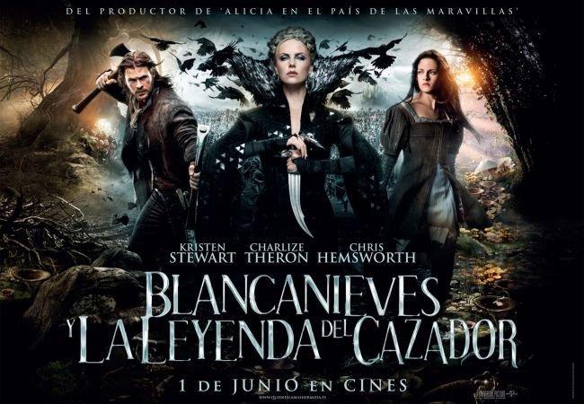 Cartel de la película Blancanieves y la Leyenda del Cazador