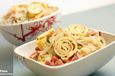 Receta de arroz frito especial