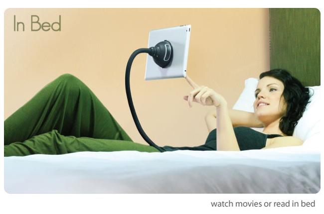 Cansado de sujetar el tablet en la cama prueba con - Soporte tablet cama ...