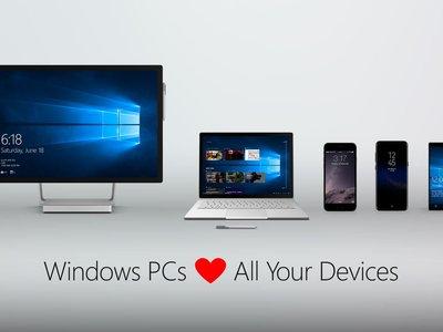 Windows 10 permitirá retomar tareas en Android e iOS y compartirá su portapapeles con ellos