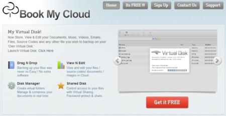 Almacenamiento en la nube ilimitado y gratuito con Book My Cloud