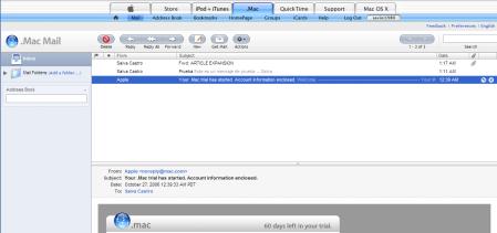 Nuevo .Mac Mail ya disponible