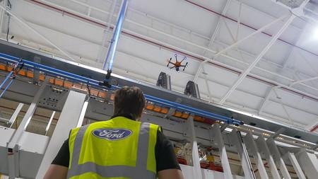 Ford Utiliza Drones En Su Planta De Motores 2