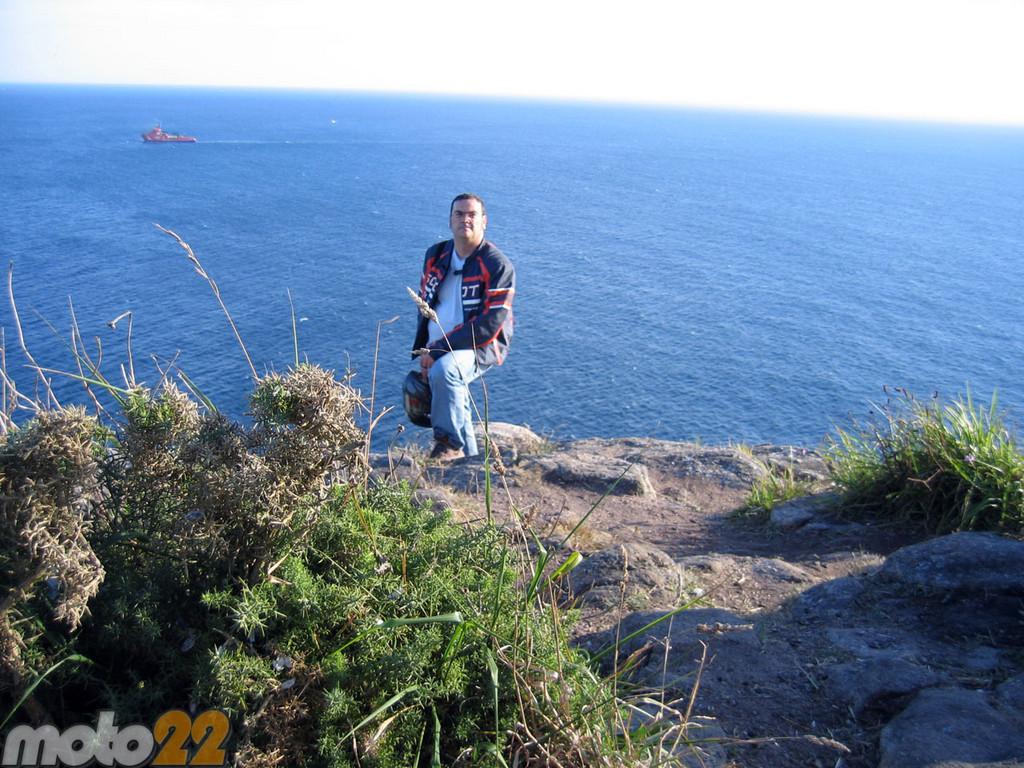 Foto de Las vacaciones de Moto 22, Finisterre-Plasencia (4/9)