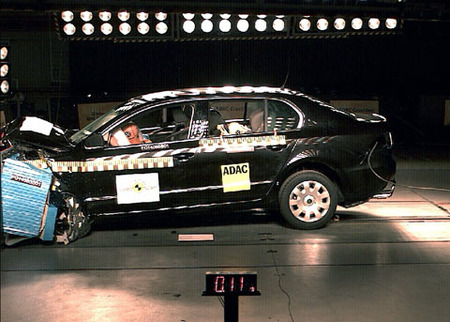 EuroNCAP - Skoda Superb